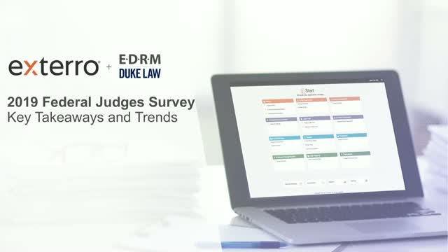 2019 Federal Judges Survey: Key Takeaways and Trends