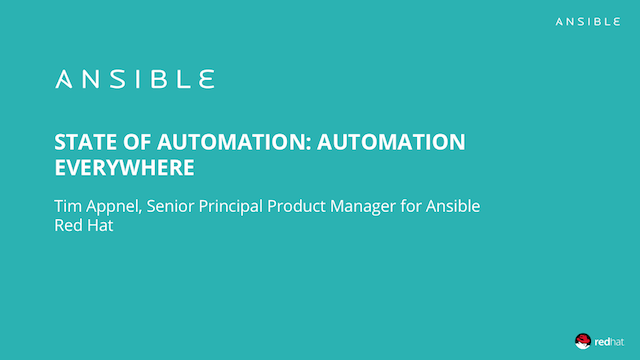 State of Automation - Automation Everywhere