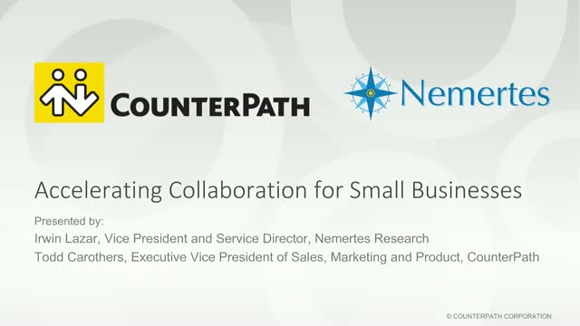 Accelerating Collaboration for Small Businesses