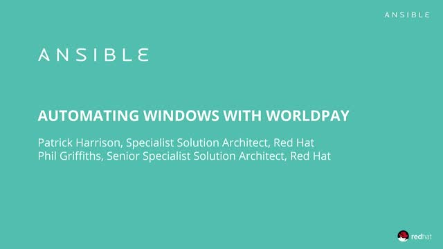How to Automate Windows Across Your IT Estate with Worldpay