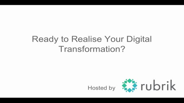 Expert Panel | Ready to realise your Digital Transformation?