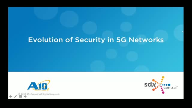 Evolution of Security in 5G Networks