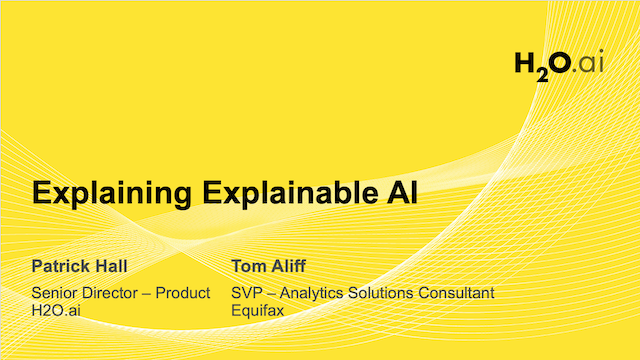 Explaining Explainable AI