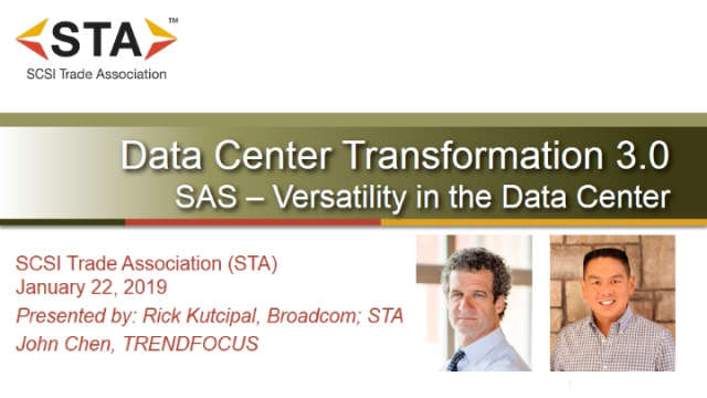 Enterprise SAS Storage: Versatility in the Data Center