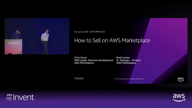 How to Sell on AWS Marketplace
