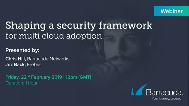 Shaping a security framework for multi cloud adoption