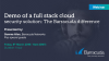 Demo of a Full Stack Cloud Security Solution  -The Barracuda Difference