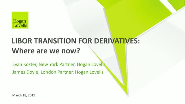 LIBOR Transition for Derivatives: A Global Approach