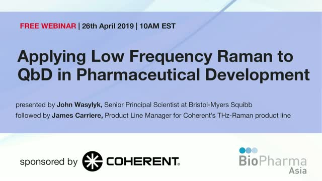 Applying Low Frequency Raman to QbD in Pharmaceutical Development