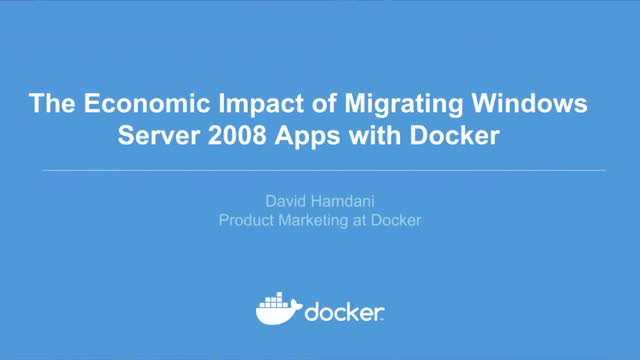 The Economic Impact of Migrating Windows Server Apps with Docker