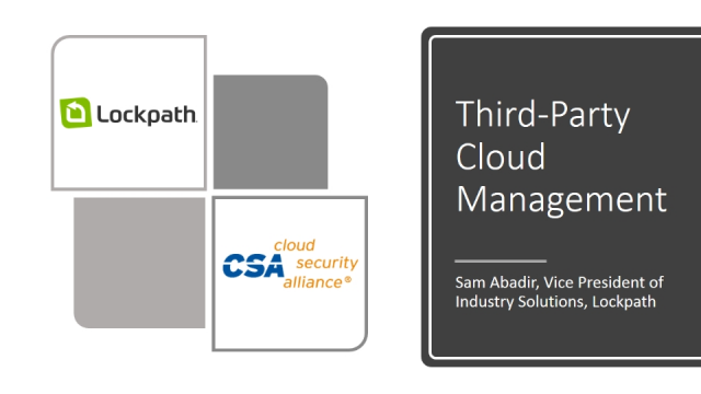 Third-Party Cloud Management