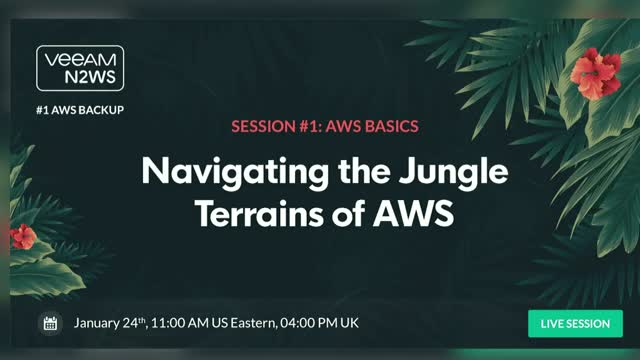 AWS Workshop Series —Session #1: AWS Basics