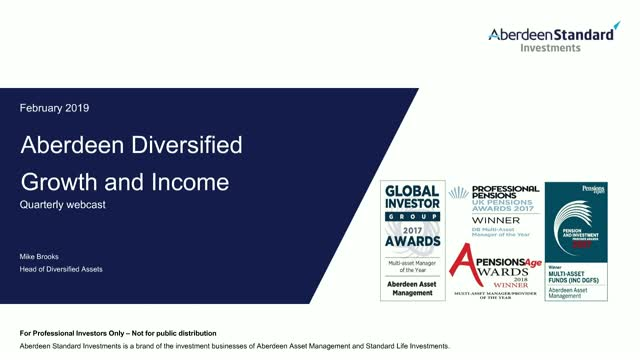 Diversified Multi-Asset Update