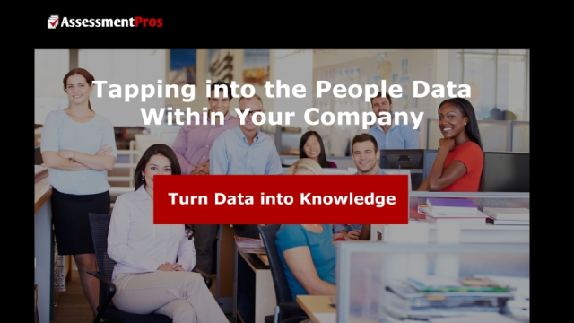 Tapping Into the People Data Within Your Company