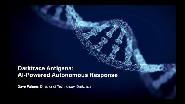 Darktrace Antigena:  AI-Powered Autonomous Response