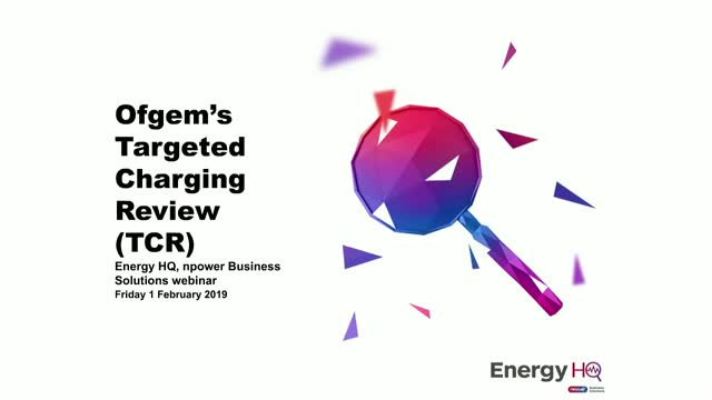 Targeted Charging Review: Likely Winners and Losers in Energy Charges Shake Up