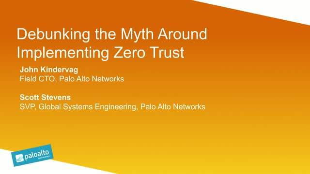 Debunking the Myth Around Implementing Zero Trust