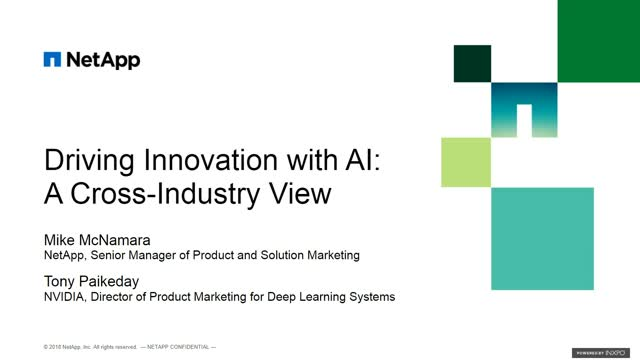 Driving Innovation with AI:  A Cross Industry View