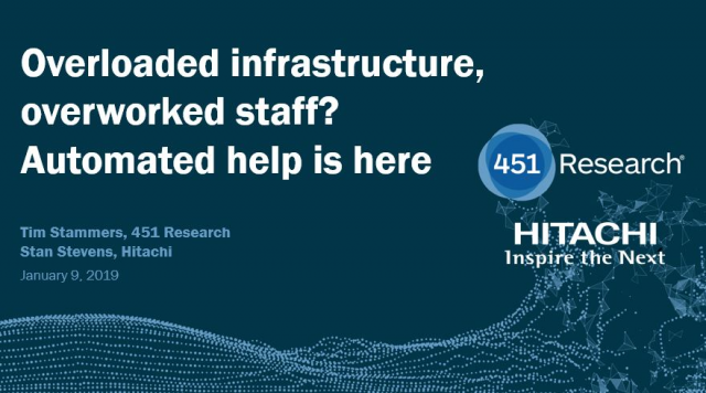 Overloaded infrastructure, overworked staff? Automated help is here