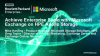 Achieve Enterprise Scale with Microsoft Exchange on HPE Apollo Storage