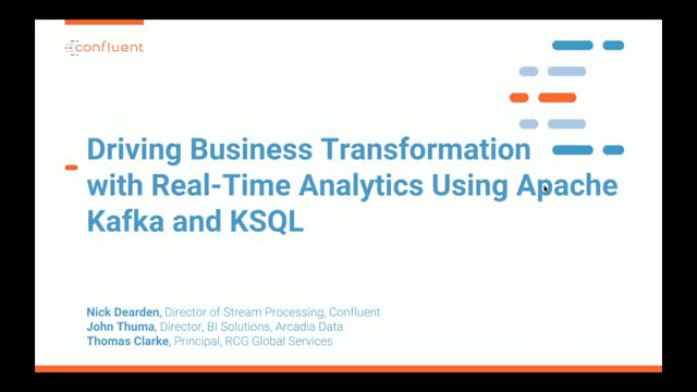Driving Business Transformation with Real-Time Analytics