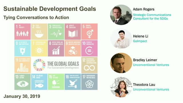 Sustainable Development Goals: Tying Conversations to Actions