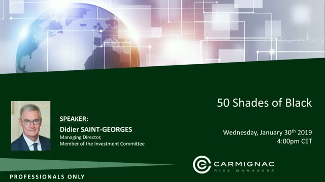 Carmignac Investment Views: 50 shades of black