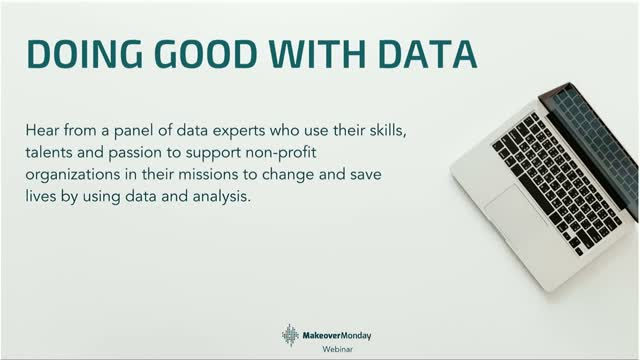 Doing Good with Data