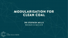 Modularisation of coal-fired power plants in the 21st century