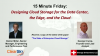 15 Minute Webinar: Design Cloud Storage for the Data Center, the Edge, and Cloud
