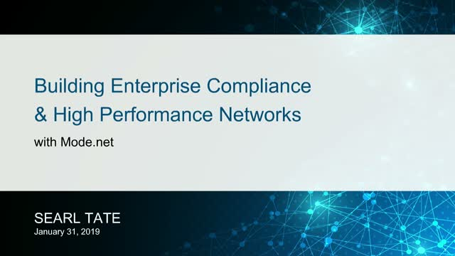 Securing The Enterprise with Your SD-WAN + Mode Core