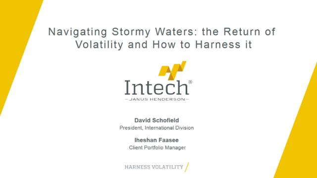 Navigating Stormy Waters: the Return of Volatility and How to Harness it