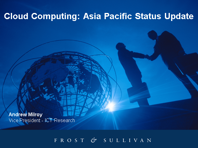 The Asia Pacific Cloud Computing Market: Status Update