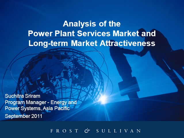 Analysis of the Power Plant Services Market and Long-term Market Attractiveness