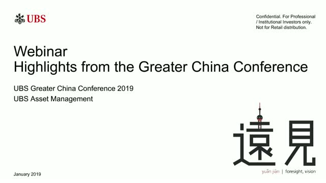 Greater China Conference 2019