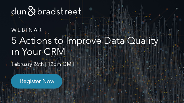 5 Actions to Improve Data Quality in Your CRM