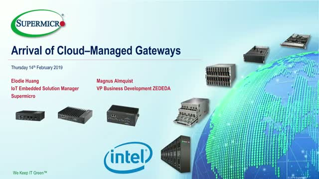 Arrival of Cloud-Managed Gateways
