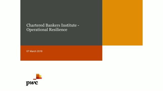 Banking Insights: Operational Resilience