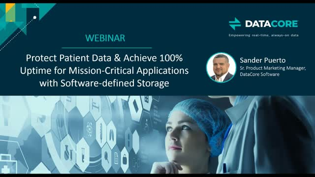 Protect Patient Data & Achieve 100% Uptime for Your Mission-Critical Apps
