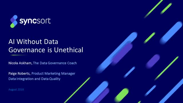 AI without Data Governance is unethical