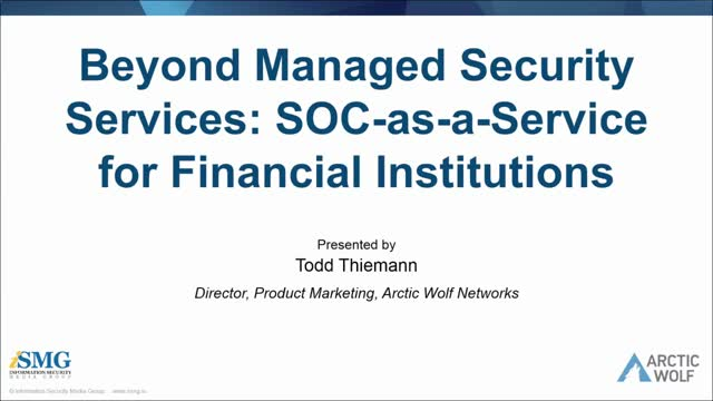Beyond Managed Security: Why SOC-as-a-Service is Key for Financial Institutions