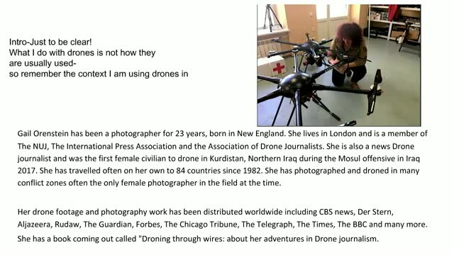From Photojournalism to Drone Journalism: One Woman's Journey Piloting Drones