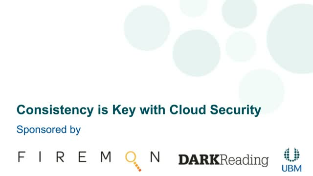 Consistency is Key with Cloud Security