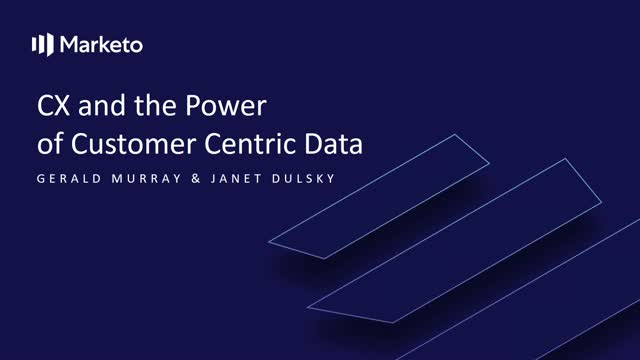 CX and the Power of Customer Centric Data