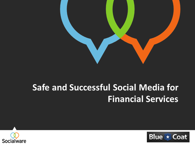 Safe and Successful Social Media for Financial Services