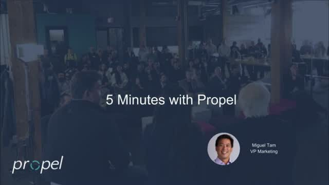 5 minutes with Propel: Engineer to Order
