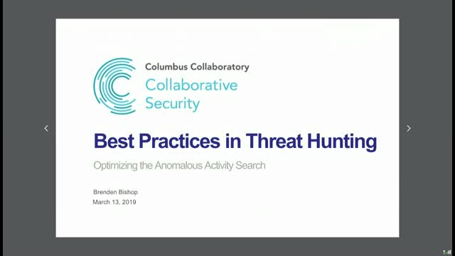 Best Practices in Threat Hunting: Optimizing the Anomalous Activity Search