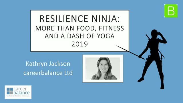 Resilience Ninja: More than Food & Fitness with a dash of Yoga