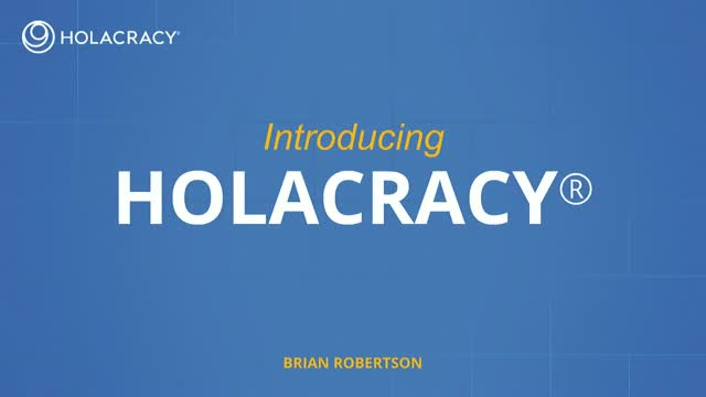 Holacracy: An alternative system for structuring organizations