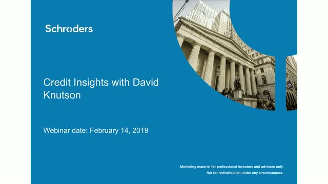 Credit Insights with David Knutson